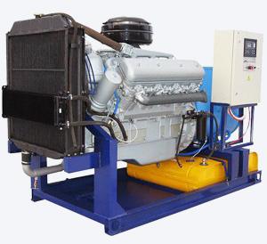 дизель-генераторы серии АД
